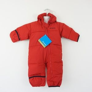 New Columbia Infant Snuggly Down Snowsuit 12Months